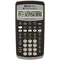 TEXBAIIPLUS - Texas Instruments BA-II Plus Adv. Financial Calculator