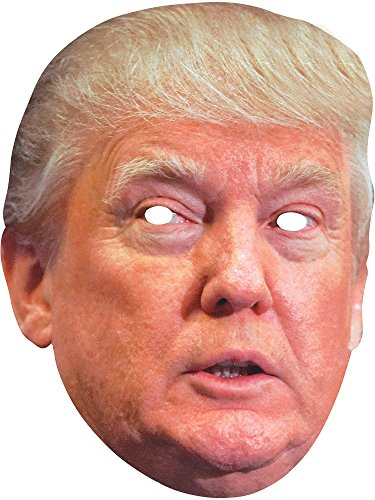 Forum Novelties Donald Trump Adult Paper Cardboard Costume Mask]()