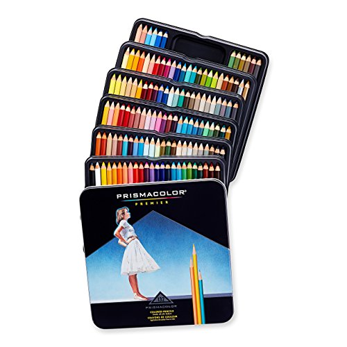 Prismacolor 4484 Premier Colored Pencils, Soft Core,