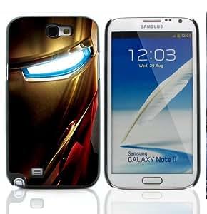 Diseño de Collection iCoco carcasa rígida para Samsung Galaxy Note 2 N7100 diseño de Iron Man