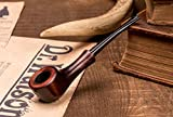 Dr. Watson - Mini Wooden Tobacco Smoking Pipe, Hand