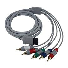 Skque Component AV Cable for Nintendo Wii 6 Feet