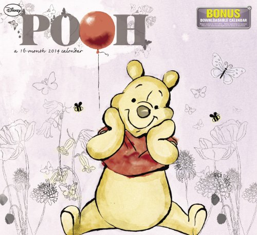 Book cover from 2014 Disney Winnie The Pooh Wall Calendar by Disney