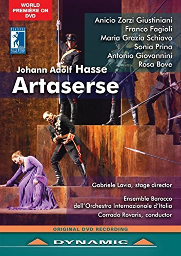 Johann Adolf Hasse: Artaserse B01M4QNIS4