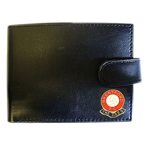 fan products of Soccer Club Wallets-Brentford FC Genuine Leather Wallet