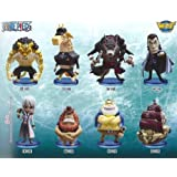 One Piece World Collectable Figure Vol.30 all eight species set (japan import)
