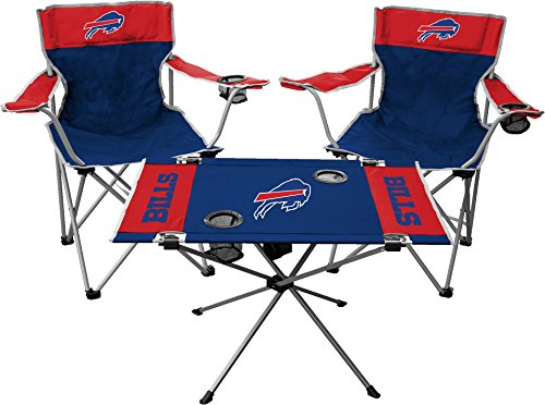 Buffalo Kit Bills Tailgate - Rawlings NFL Buffalo Bills Tailgate Kit, Team Color, One Size