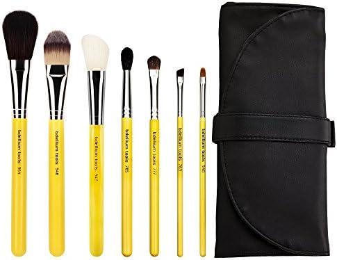 Bdellium Tools profesional de maquillaje antibacteriano Studio Line Basic – Juego de brochas con rollo Up Pouch 7 unidades): Amazon.es: Belleza