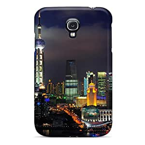 New Arrival Cover Case With Nice Design For Galaxy S4- Shanghai Nights China