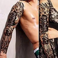 Pintura de la flor del brazo lleno engomada del tatuaje de la ...
