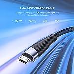 UGREEN-Cavo-Micro-USB-Ricarica-Rapida-24A-Cavo-USB-in-Nylon-Supporta-QC-30-20-FCP-Compatibile-con-Samsung-A10-J6-Huawei-P-Smart-P10-Lite-Honor-9-Lite-Xiaomi-Redmi-6A-Redmi-7-Mi-A2-2m