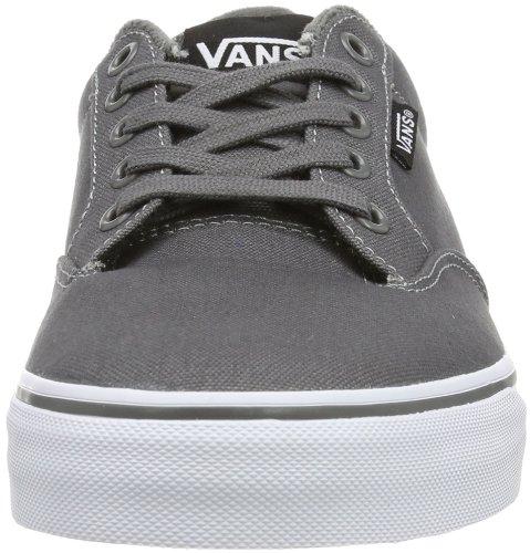 Vans Men's WINSTON Low-Top Sneakers Grau ((Canvas) Pewter 4wv) fashionable cheap price E1c9SKvP5