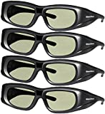 4 Adult Epson ELPGS03 3D Glasses 3D