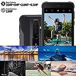 Telephone Portable Incassable, Blackview® BV6300 Pro Smartphone Débloqué 4G (Quad Caméra 16MP, Android 10, Helio P70… 7