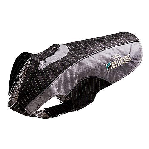 Helios Dog Reflecta-Bolt' Sporty Performance Tri-Velcro Waterproof Pet Dog Coat Jacket W/Blackshark Technology by Helios