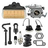 Mckin MS250 Carburetor Tune Up Kit fits Stihl 021 023 025 MS210 MS210C MS250C MS230 Chainsaw