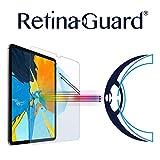 RetinaGuard Anti-UV, Anti-Blue Light Tempered Glass Screen Protector for 2018 iPad Pro 11'' - SGS & Intertek Tested - Blocks Excessive Harmful Blue Light, Reduce Eye Fatigue and Eye Strain