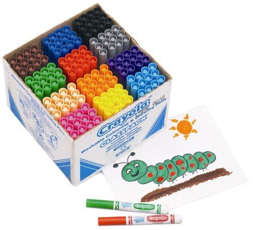 Crayola 144 Assorted Broad Line Markers classpack