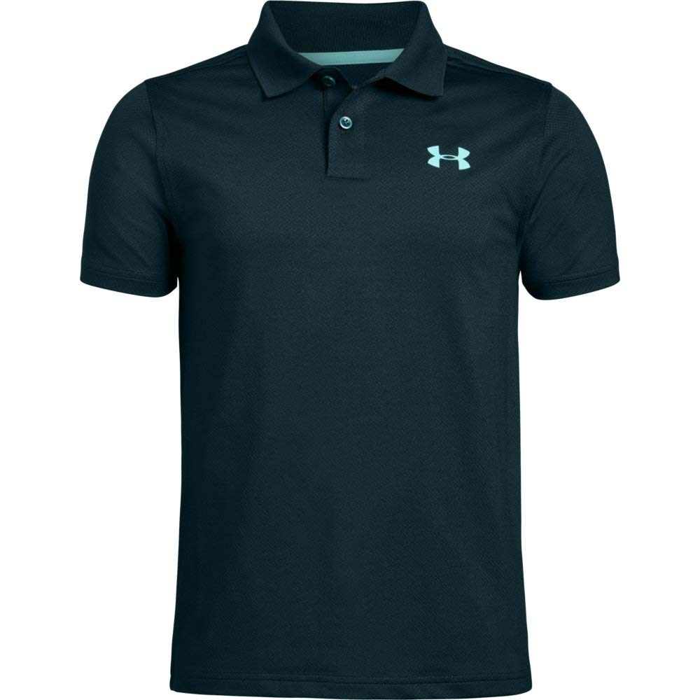 Under Armour Performance Polo 2.0, Batik//Neo Turquoise, Youth X-Small