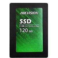 Hikvision SSD C100 2.5 inç Katı Hal Diski, 120GB, Siyah