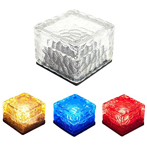 Ice Block Solar Lights