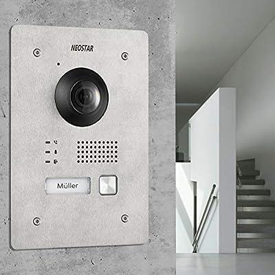 NEOSTAR 2 Alambre IP Videoportero ✓ Smartphone aplicación ✓ 7 ...