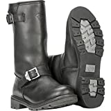 Highway 21 Unisex-Adult Primary Engineer Boots (Black, Size 9)