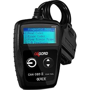 Amazon com: OBD2 Scanner OBDII Code Reader - Scan Tool for
