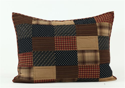 VHC Brands Patriotic Patch Sham -