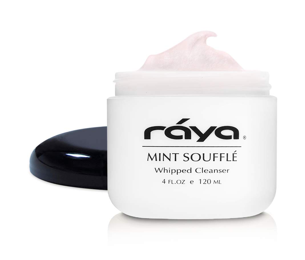 RAYA Mint Soufflé Facial Cleanser 4 oz (102) | pH Balanced Face Wash for Oily and Combination Skin| Helps Clear Clogged Pores and Smooth Complexion by Raya