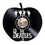Cheap Beatles Guitar Vinyl Record Wall Clock – Get unique Living Room wall decor – Gift ideas for men and women – Rock Unique Modern Art
