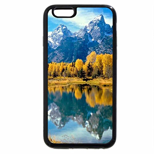 iPhone 6S / iPhone 6 Case (Black) Mountains in autumn