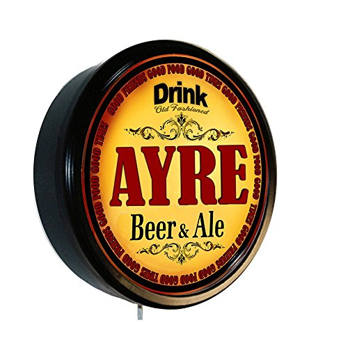 AYRE Beer and Ale Cerveza Lighted Wall Sign