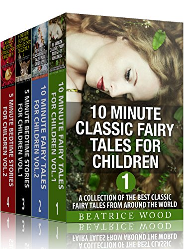 FAIRY TALES (4-Book Boxed Set: 32 Short Fairy Tales and Bedtime Stories for Kids ages 7-12) (Fairy Boxed)