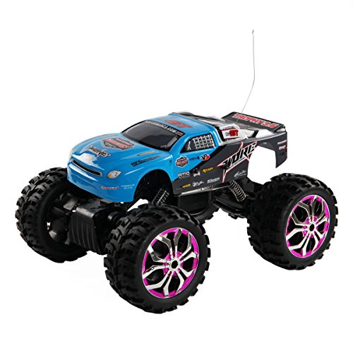 Costzon 1:10 Scale RC Rock Crawler Truck Remote Control Off Road Racing Car Toy ()