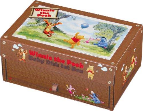 Combi Winnie the Pooh Baby Food Dish set Feeding dish box set by Combi (Image #1)