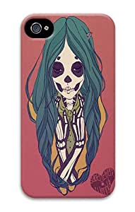 IMARTCASE iPhone 4S Case, Skeleton Girl PC Hard Plastic Case for Apple iPhone 4S and iPhone 4 by lolosakes by lolosakes