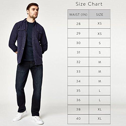 Mavi Men's Matt Classic Mid-Rise Relaxed Straight-Leg Jeans, Grey Twill, 38W X 30L