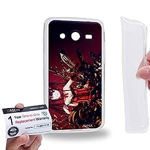 Case88 [Samsung Galaxy Core 2 / II G355H] Gel TPU Carcasa/Funda & Tarjeta de garantía - Date A Live Kurumi Tokisaki 1506