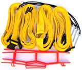 Home Court 19 AG Volleyball Adjustable Boundary Webbing, Yellow