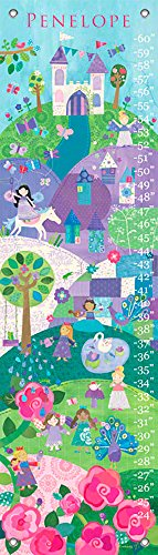 Enchanted Land by Jill McDonald - Personalized Growth Charts, - Personalized Mcdonald Jill