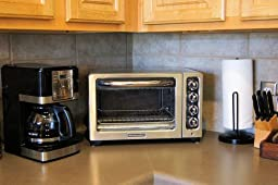 12-Inch Convection Countertop Oven with Silver Handle, Contour Silver ...
