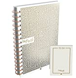 Calendar Planner - Premium Kit: Best Daily Planner for Crushing Goals + Mini Notebook + Coloring Mandalas & Extra Surprise