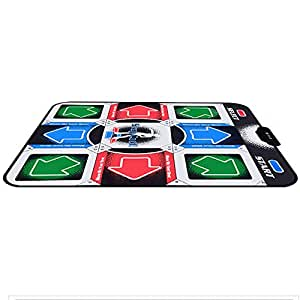 Electronic Dance Mats Juegos de música / Non-Slip Dancing Manta, fácil de operar, USB Para PC / TV
