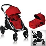 Cheap Baby Jogger 81263KIT1 2011 City Select Stroller with Bassinet – Ruby