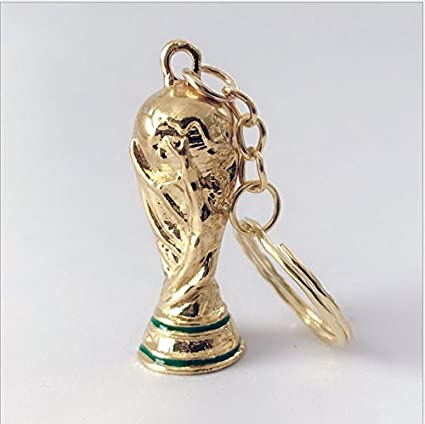 9c900f1d9bf Amazon.com   Aszune 2018 Russia World Cup Keychain Trophy Keyring Souvenir  for Soccer Fans   Sports   Outdoors