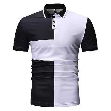 ZODOF Camisa Hombre de Creativo Divertido Camiseta Impresa Doble ...