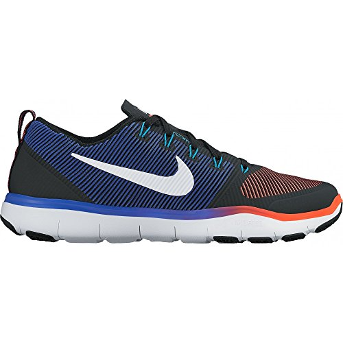 Nike Free Train Versatilità Mens Running Trainers 833258 Sneakers Shoes (us 7.5, Black White Total Crimson 016)