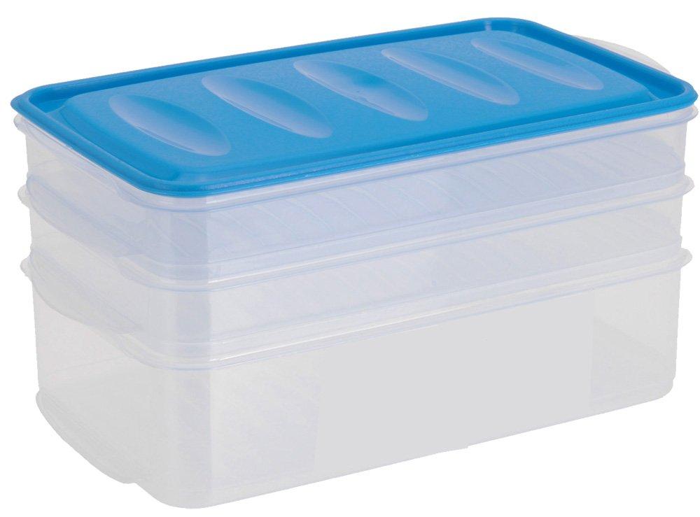 Kühlschrank Aufschnittbox : 3er set aufschnittbox aufschnittdose vorratsdose aufschnitt: amazon