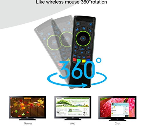 GOTD 2.4G Remote Control Air Mouse Wireless Keyboard For XBMC Android Mini PC TV Box by Goodtrade8 (Image #5)